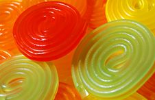 Free Colorful Spiral Candy Stock Images - 5545964