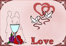 Card Love Stock Photos