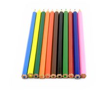Free Lot Of Color Pencils Royalty Free Stock Images - 5546129