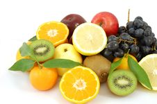 Free Mix Fruits Royalty Free Stock Photos - 5546328