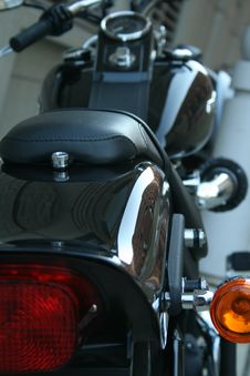 Free Motorcycle Tail Light Stock Images - 5546524