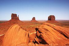 Monument Valley NP, Arizona Royalty Free Stock Photos