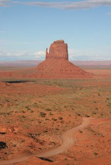Free Monument Valley Royalty Free Stock Images - 5547679