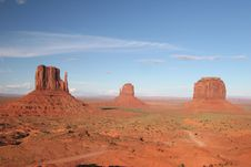 Free Monument Valley Royalty Free Stock Photos - 5547688