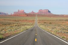 Free Monument Valley Royalty Free Stock Photos - 5547798