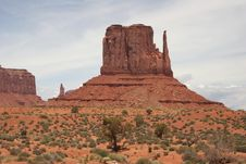 Free Monument Valley Stock Image - 5547841