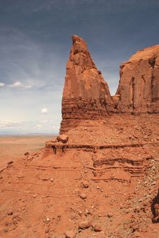 Free Monument Valley Royalty Free Stock Photo - 5547855