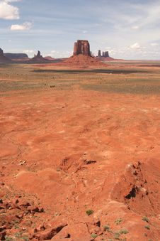 Free Monument Valley Stock Photo - 5547860