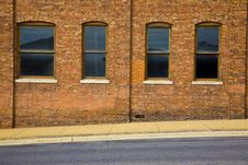 Free Four Warehouse Windows Royalty Free Stock Photo - 5547915