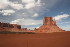 Free Monument Valley Stock Photography - 5547932