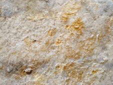 Free Stone With Yellow Spots Stock Photography - 5548032