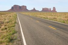 Free Monument Valley Stock Photography - 5548112