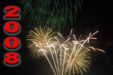Free Happy New Year Stock Photography - 5549562