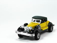 Free Yellow Toy Car 4 Royalty Free Stock Photos - 5549638