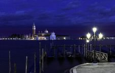 Free The San Giorgio Maggiore Church Royalty Free Stock Images - 5549739