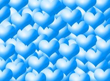 Free Hearts Background Royalty Free Stock Photos - 5549828