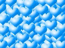 Free Hearts Background Royalty Free Stock Photos - 5549828