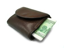 Free Brown Wallet Stock Photos - 5549843