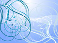 Free Elegant Swirly Curls Royalty Free Stock Image - 5551806