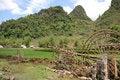 Free Mountainous Landscape Of Cao Bang Royalty Free Stock Image - 5551866