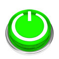 Free Isolated Power Button 01 Stock Photos - 5552633