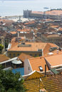 Free Roofs Of Lisbon Royalty Free Stock Photo - 5557045