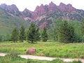 Free Rocky Mountain Path Stock Image - 5559851