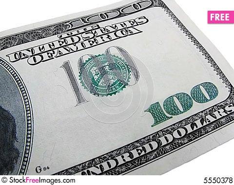 Free One Hundred 2 Royalty Free Stock Photos - 5550378