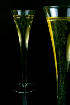 Free Sparkling Wine Stock Photography - 5550002