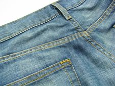 Free Blue Jeans 4 Royalty Free Stock Images - 5550099
