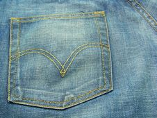 Free Blue Jeans 5 Stock Image - 5550151