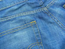 Free Blue Jeans 7 Stock Photos - 5550203