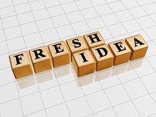 Free Fresh Idea - Golden Stock Photography - 5550792