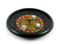 Free Casino Roulette Gamble Cubes Stock Photo - 5551330