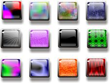 Free Buttons Royalty Free Stock Images - 5551559
