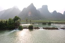Free Mountainous Landscape Of Cao Bang Stock Photography - 5551882