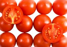 Free Closeup Tomato Background Stock Images - 5551884