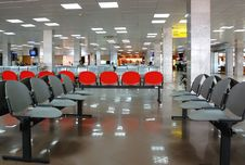 Free Waiting In The Airport Royalty Free Stock Photo - 5551995
