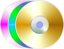 Free Disk Stock Image - 5552161