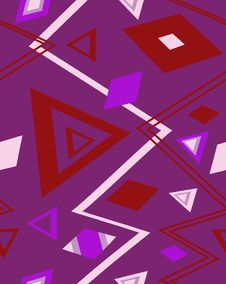 Free The Sample Of A Background With Triangles. Vector Royalty Free Stock Photos - 5552388