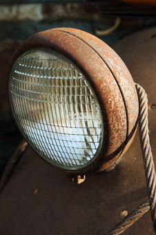 Rusty Headlight Stock Photos