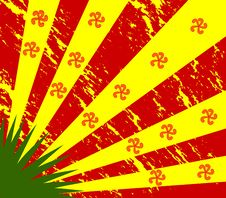 Free Bloody Flag Stock Images - 5553114