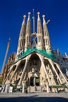 Free Sagrada Familia Stock Photo - 5553680