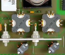 Free Printed Circuit-board Royalty Free Stock Photos - 5553918