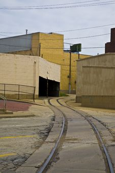 Free Midwestern Warehouse District Royalty Free Stock Photo - 5554675
