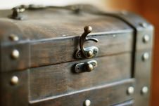 Free Wood Chest Stock Photo - 5555090