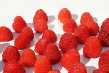 Free Many Raspberries Royalty Free Stock Images - 5555799