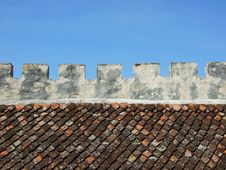 Fortress Wall Stock Photography