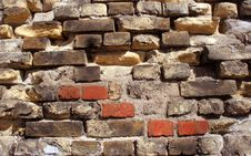 Free Old Brick Texture Tile Stock Photography - 5556362