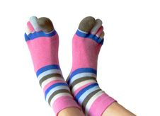 Free Socks With Toes Royalty Free Stock Photography - 5557077